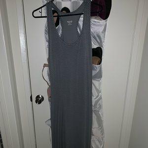 Racer back Maxi Dress